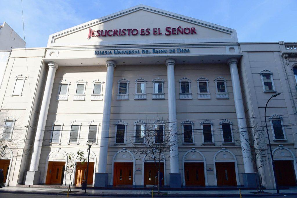 Universal-Brasil-Fachada da sede da Igreja Universal na Argentina-Maximiliano Luna:Infobae