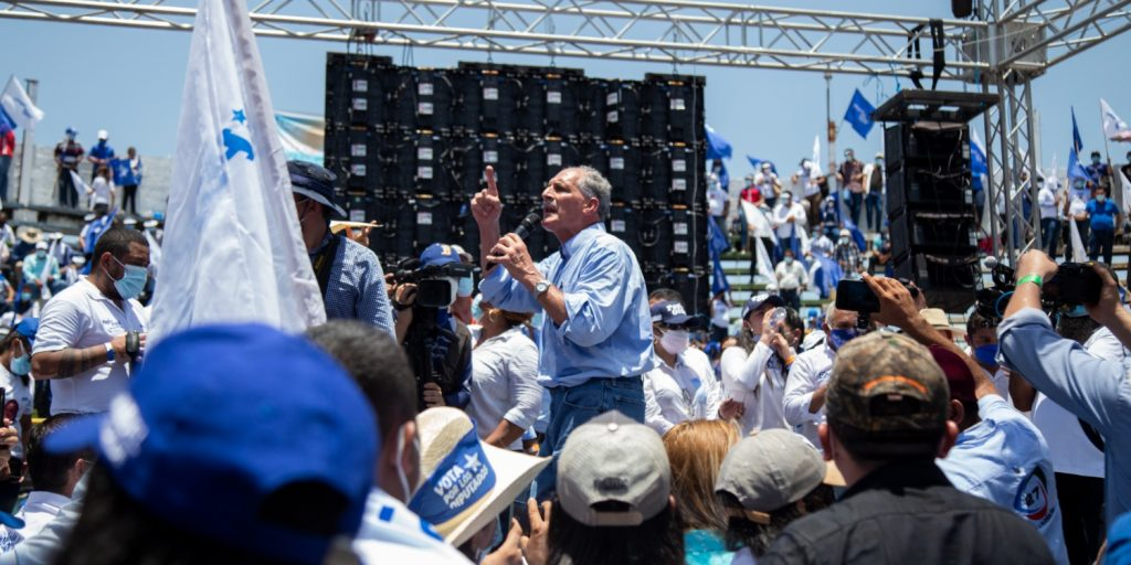 Nasry Asfura, candidato presidencial de Honduras.