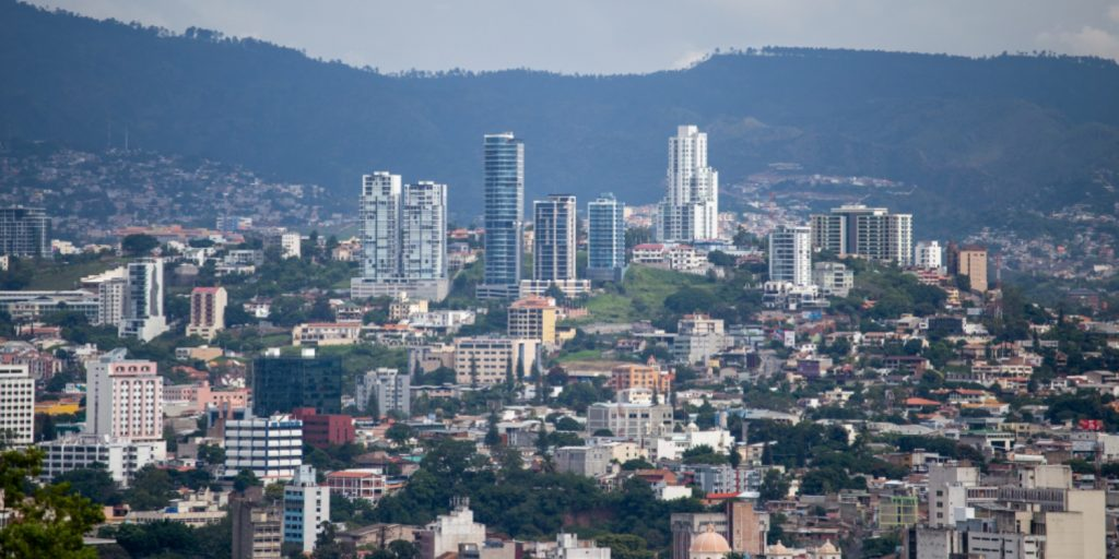 Tegucigalpa, ciudad de Honduras