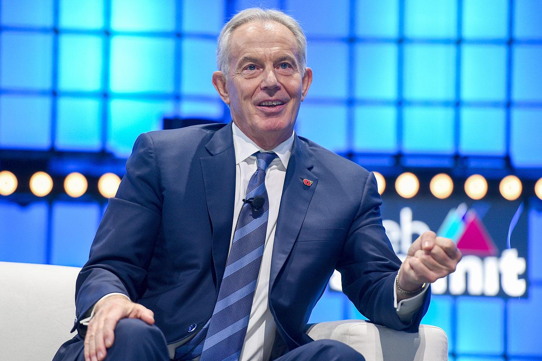 Ex primer ministro británico Tony Blair, mencionado en los Pandora Papers